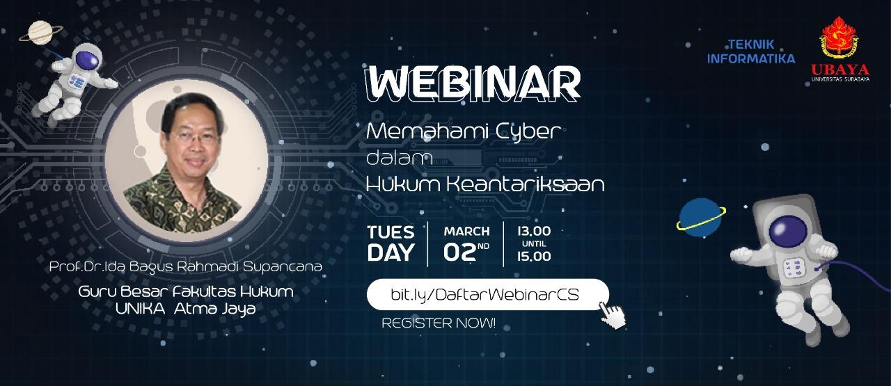 Webinar Cyber dalam Hukum Keantariksaan